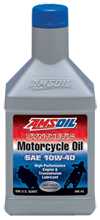 SAE 10W-40 Synthetic Motorcycle Oil (MCF), Amsoil, Mark Peabody direct jobber